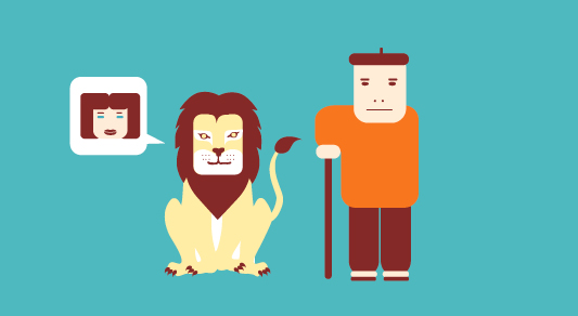 le-lion-amoureux-fable-la-fontaine-declaration-fille-berger-père