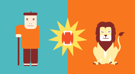 le-lion-amoureux-fable-la-fontaine-declaration-berger-père-danger