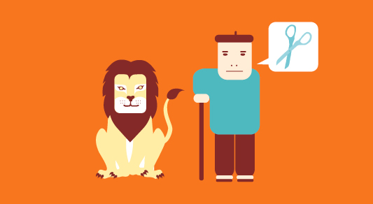 le-lion-amoureux-fable-la-fontaine-berger-père-ciseaux