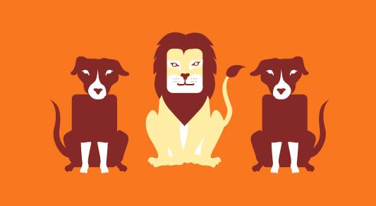 le-lion-amoureux-fable-la-fontaine-chiens-de-garde