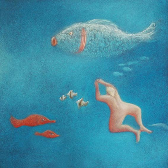 fanny-orge-pastel-eau-nager-respirer-poissons-branchies-ocean-poisson-suivre-3