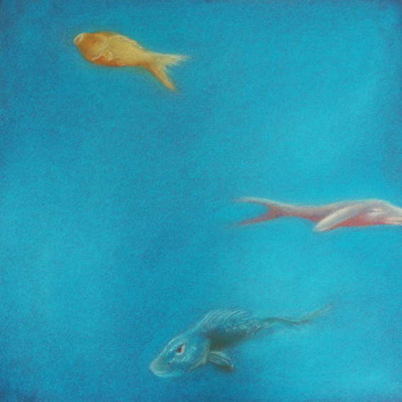 fanny-orge-pastel-eau-nager-respirer-poissons-branchies-ocean-calme