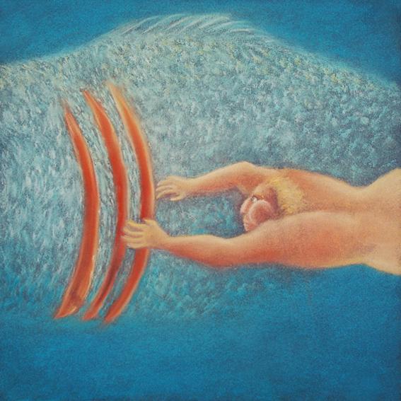 fanny-orge-pastel-eau-nager-respirer-poissons-branchies-ocean-poisson-suivre-6