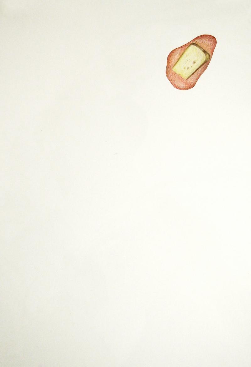 fanny-orge-crayon-de-couleur-La-Fontaine-Corbeau-fromage